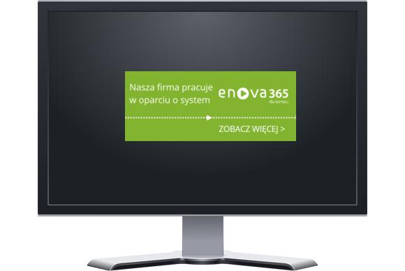 iPodatki365 pracuje na oprogramowaniu ENOVA